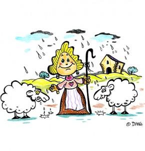 Téléchargement Chanson Il pleut, il pleut Bergère