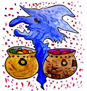 Téléchargement Comptine La soupe à la sorcière