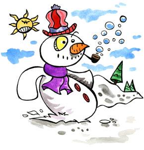 Téléchargement Comptine Le bonhomme de neige