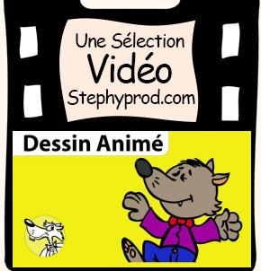Téléchargement Dessin animé de la chanson Le loup sympa