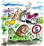 Téléchargement Comptine Un escargot qui partait en vacances
